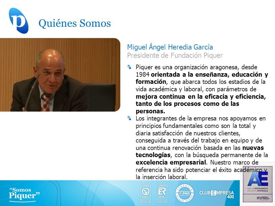 Quiénes Somos Miguel Ángel Heredia García