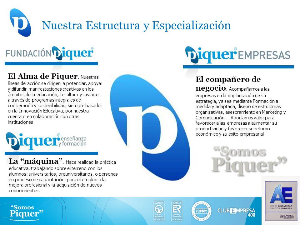 Nuestra Estructura y Especialización
