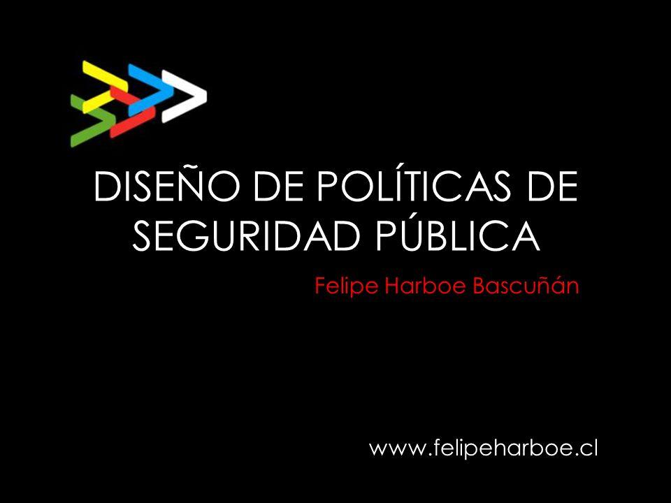 DISEÑO DE POLÍTICAS DE SEGURIDAD PÚBLICA