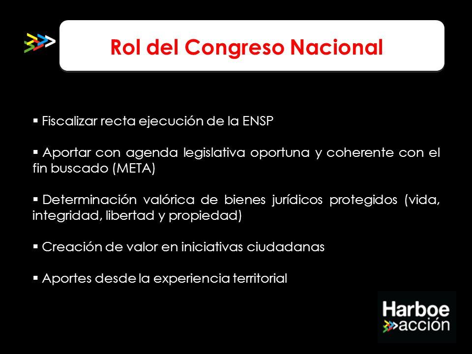 Rol del Congreso Nacional