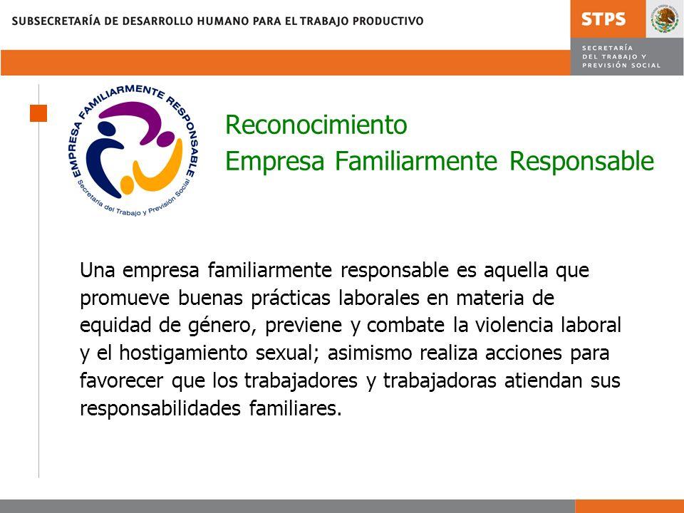 Reconocimiento Empresa Familiarmente Responsable