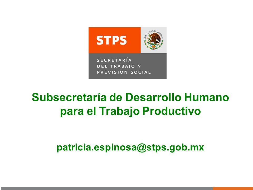Subsecretaría de Desarrollo Humano para el Trabajo Productivo
