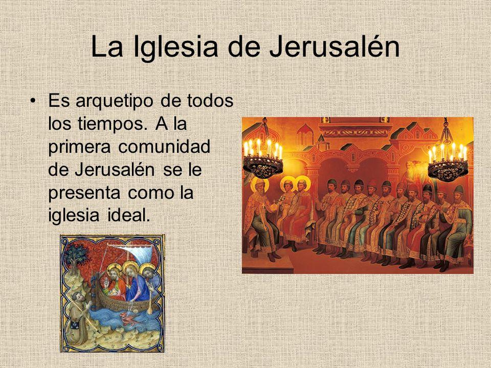 La Iglesia de Jerusalén