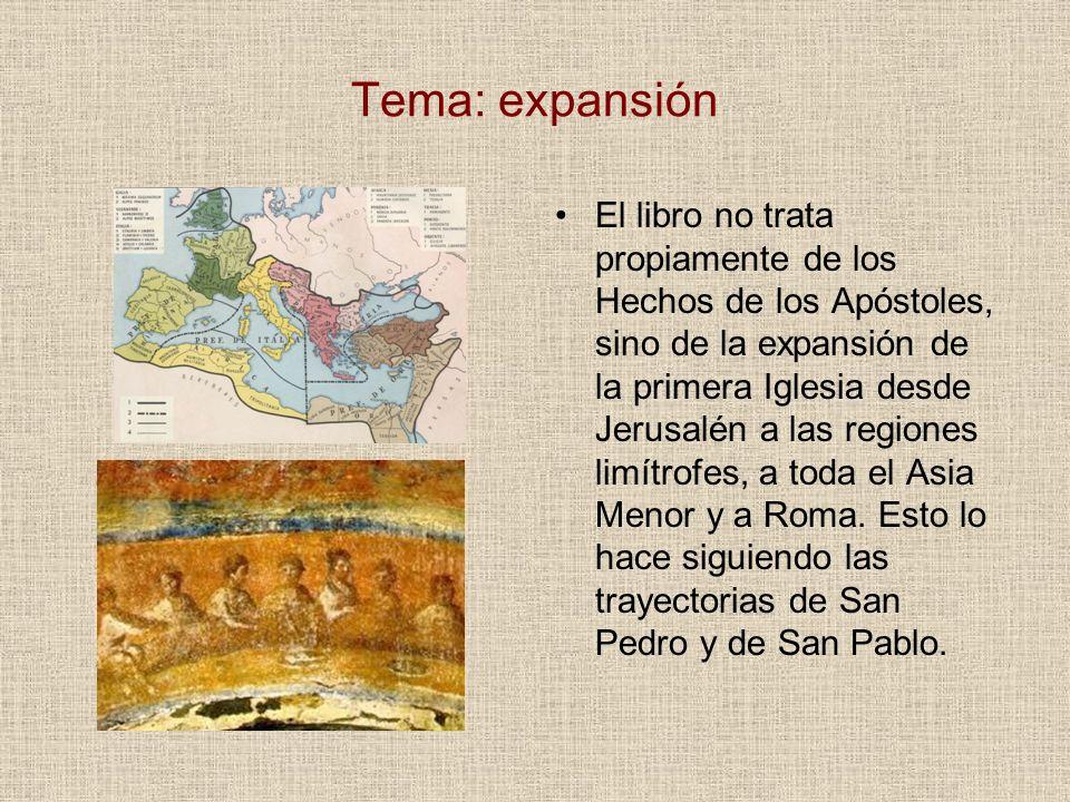 Tema: expansión