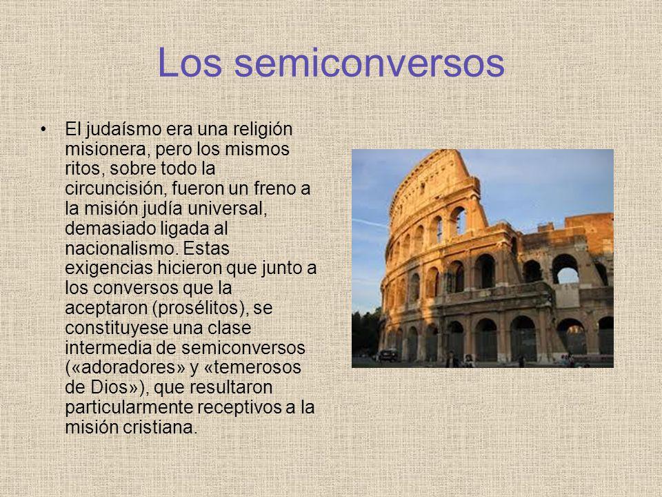 Los semiconversos