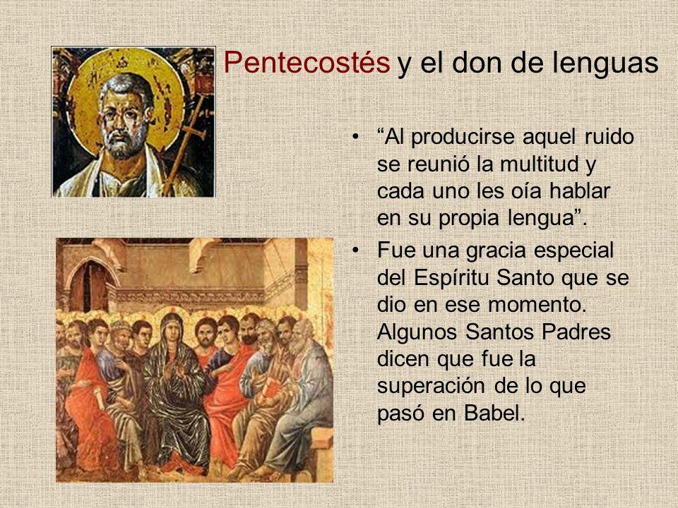Pentecostés y el don de lenguas