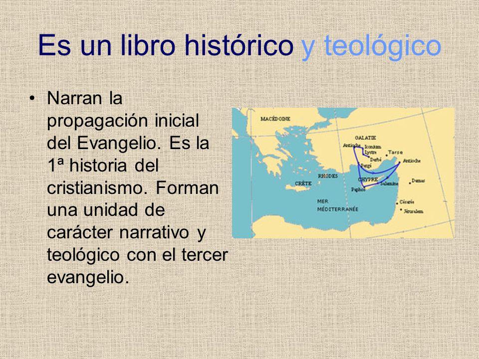 Es un libro histórico y teológico