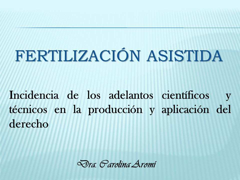 Fertilización Asistida