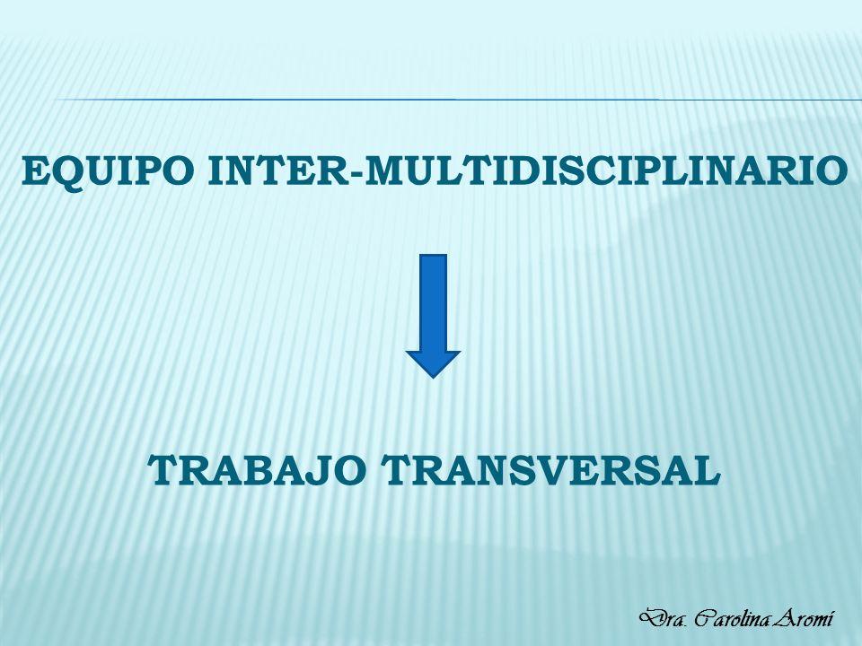 EQUIPO INTER-MULTIDISCIPLINARIO