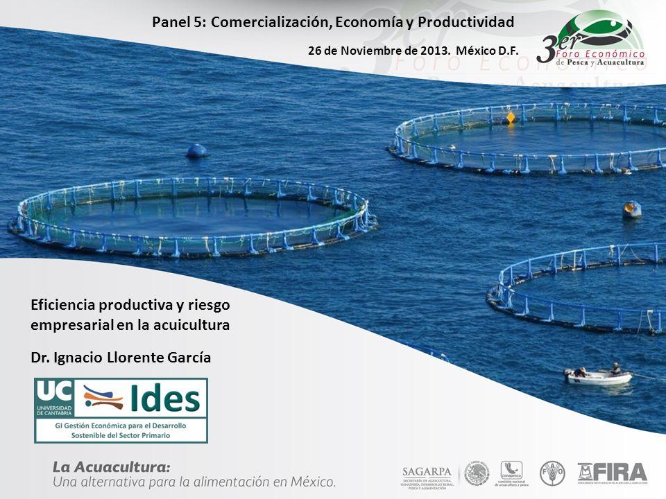 Panel 5: Comercialización, Economía y Productividad
