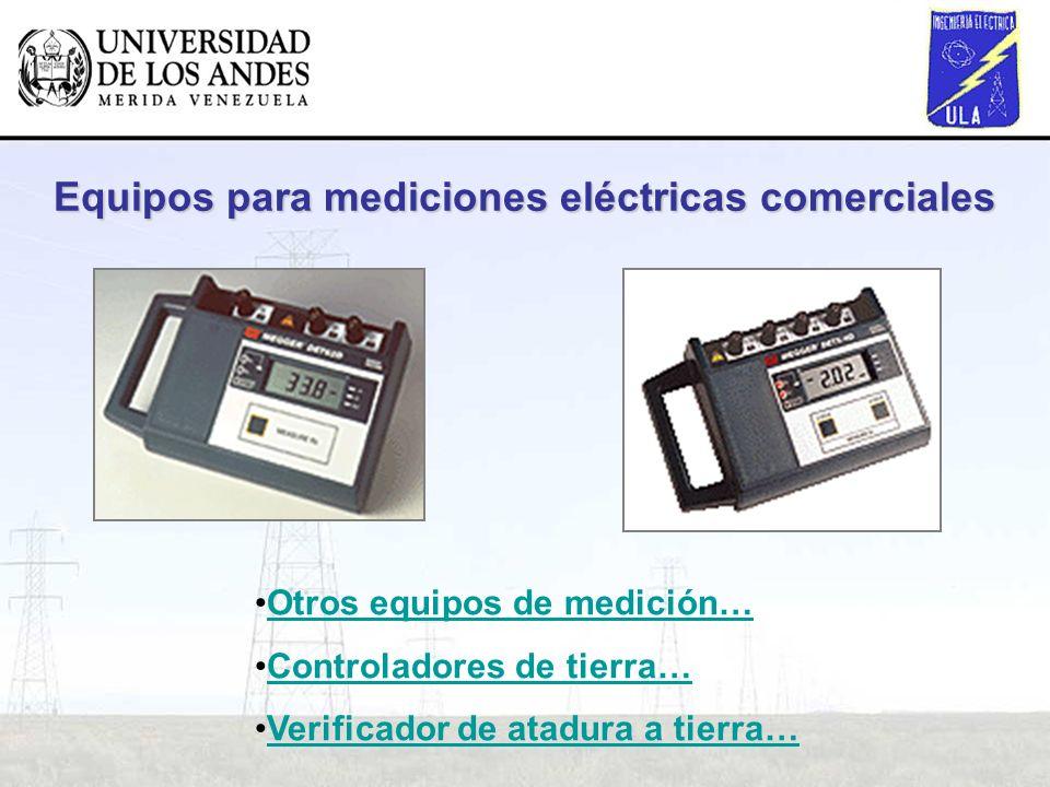 Equipos para mediciones eléctricas comerciales