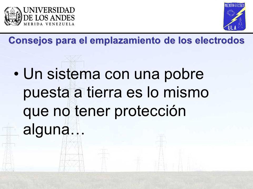 Consejos para el emplazamiento de los electrodos