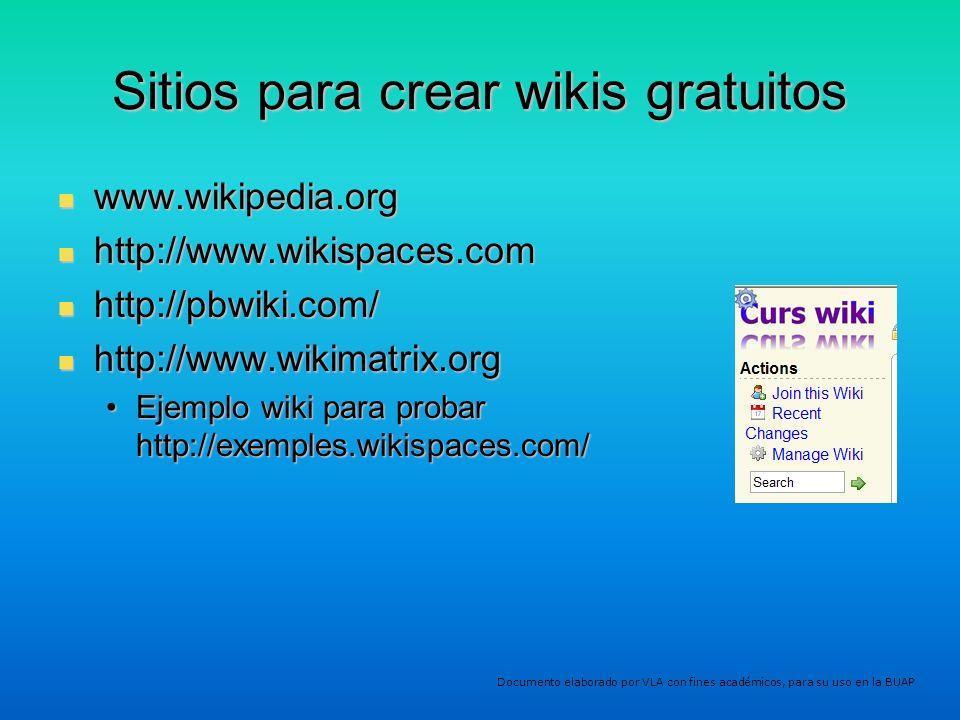 Sitios para crear wikis gratuitos
