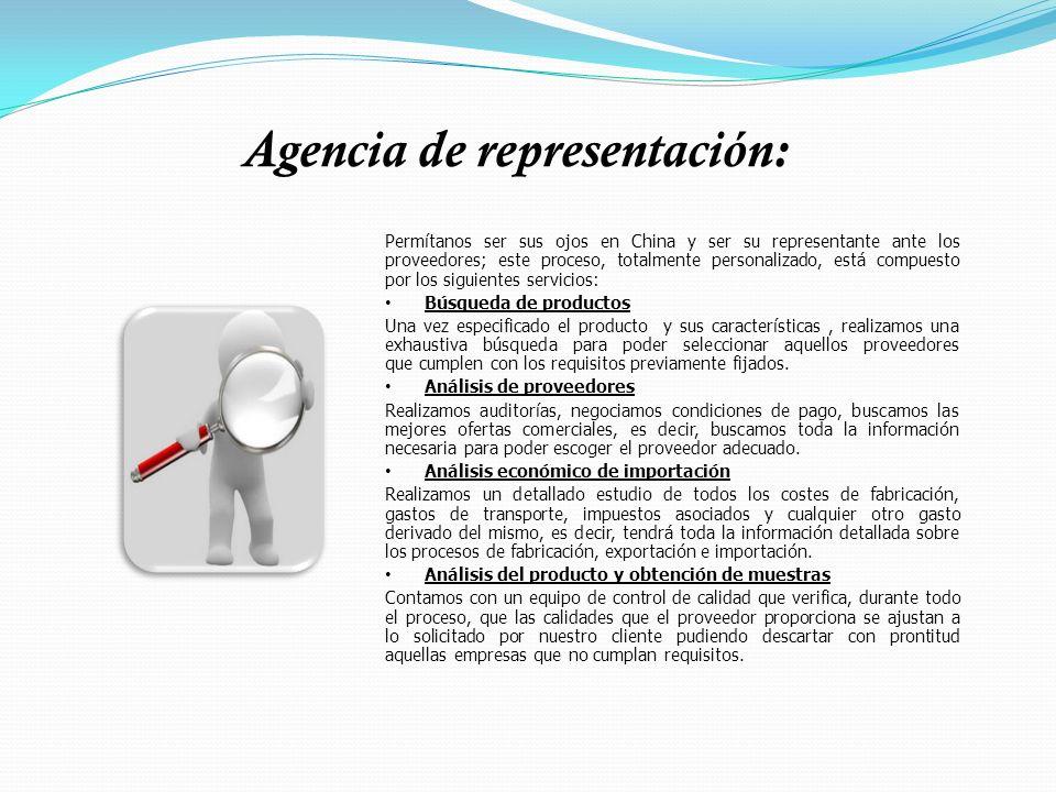 Agencia de representación: