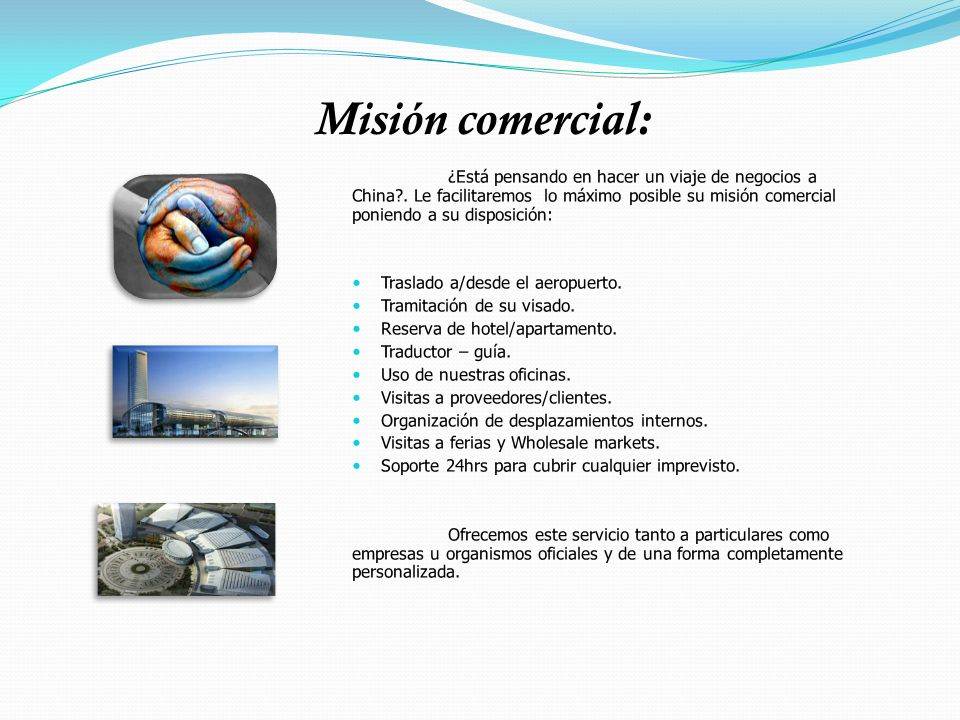 Misión comercial: