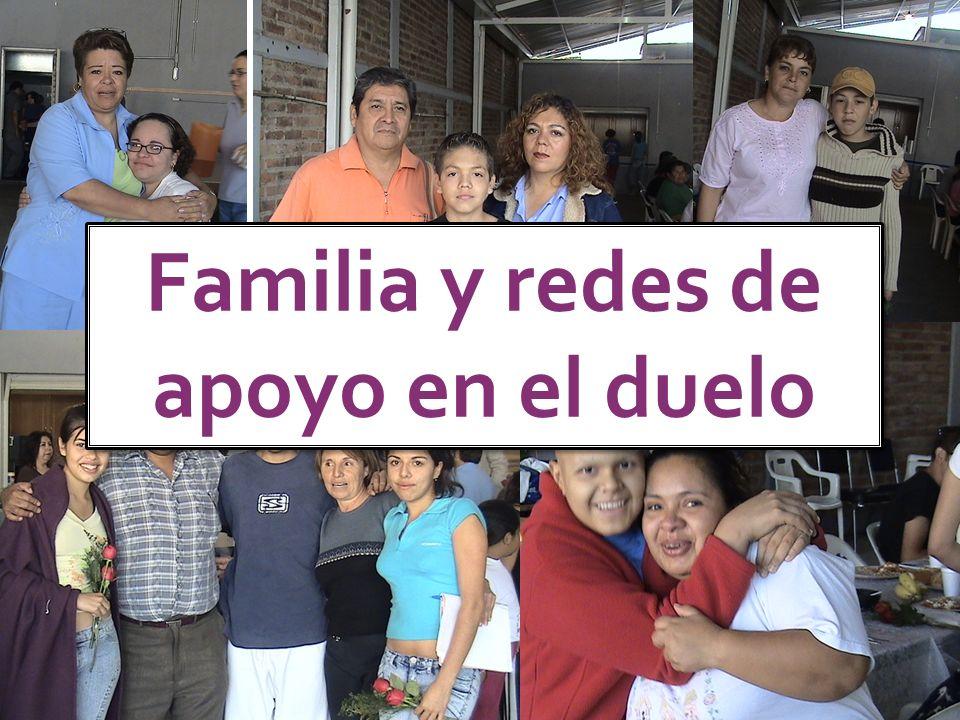Familia y redes de apoyo en el duelo