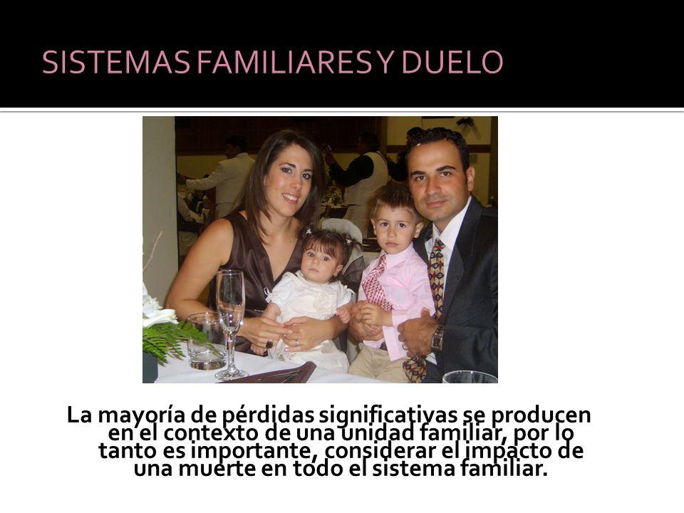 SISTEMAS FAMILIARES Y DUELO