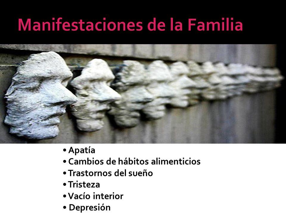 Manifestaciones de la Familia