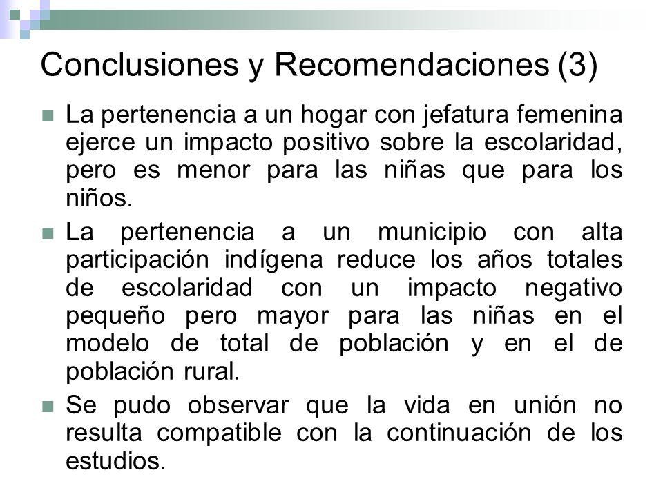 Conclusiones y Recomendaciones (3)