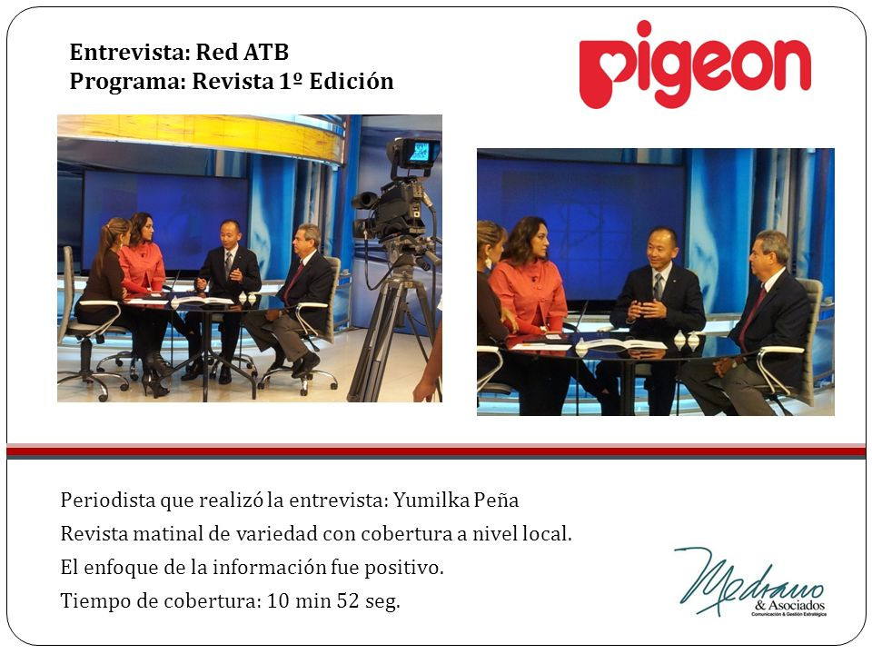 Entrevista: Red ATB Programa: Revista 1º Edición