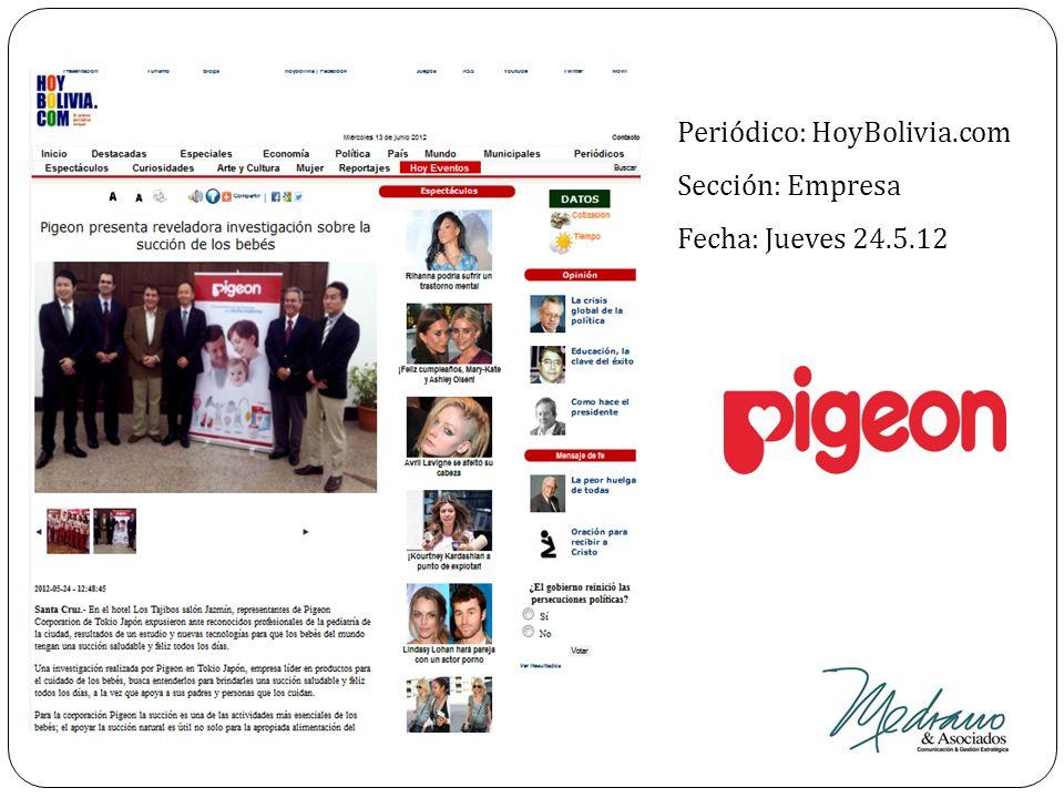 Periódico: HoyBolivia.com