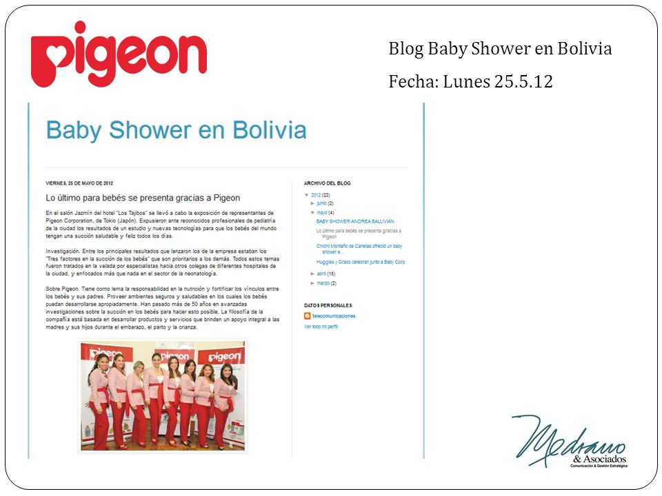 Blog Baby Shower en Bolivia