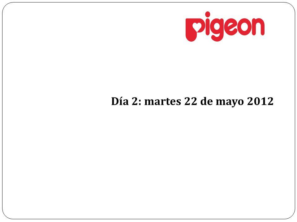 Día 2: martes 22 de mayo 2012