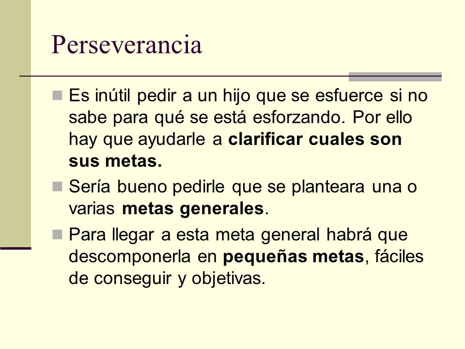 Perseverancia