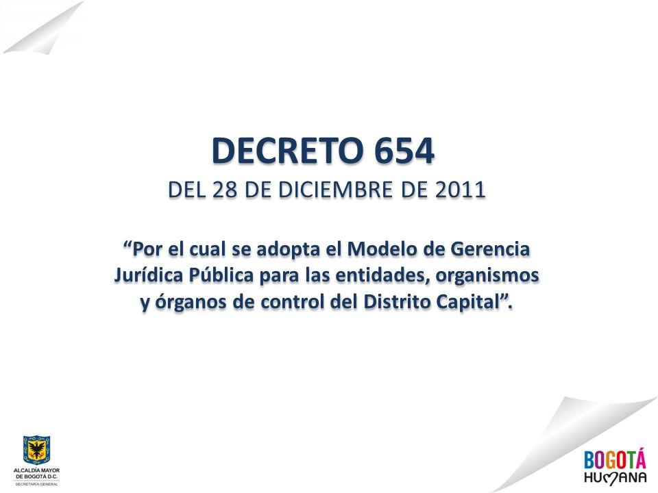 DECRETO 654 DEL 28 DE DICIEMBRE DE 2011