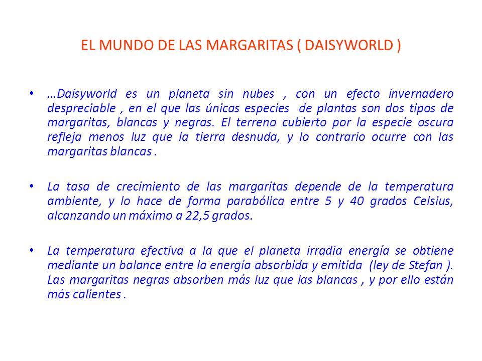 EL MUNDO DE LAS MARGARITAS ( DAISYWORLD )