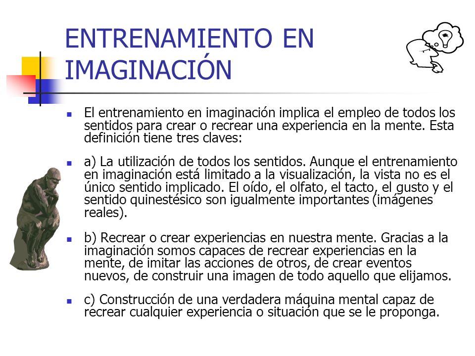 ENTRENAMIENTO EN IMAGINACIÓN