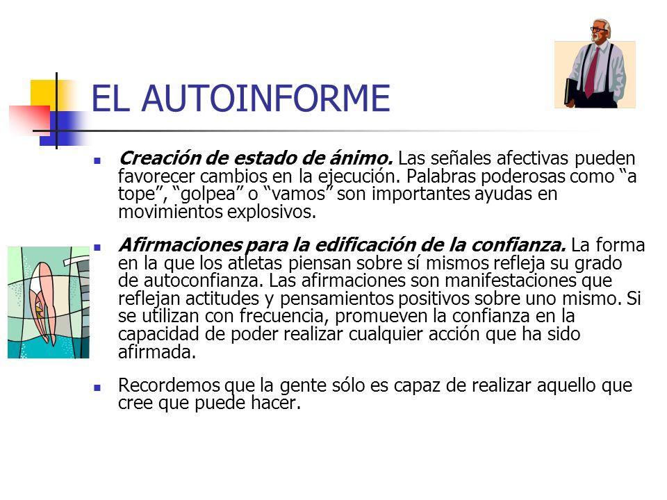 EL AUTOINFORME
