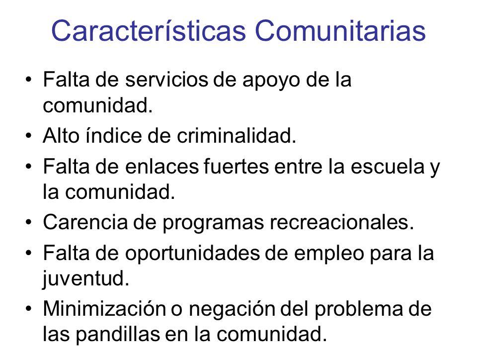 Características Comunitarias