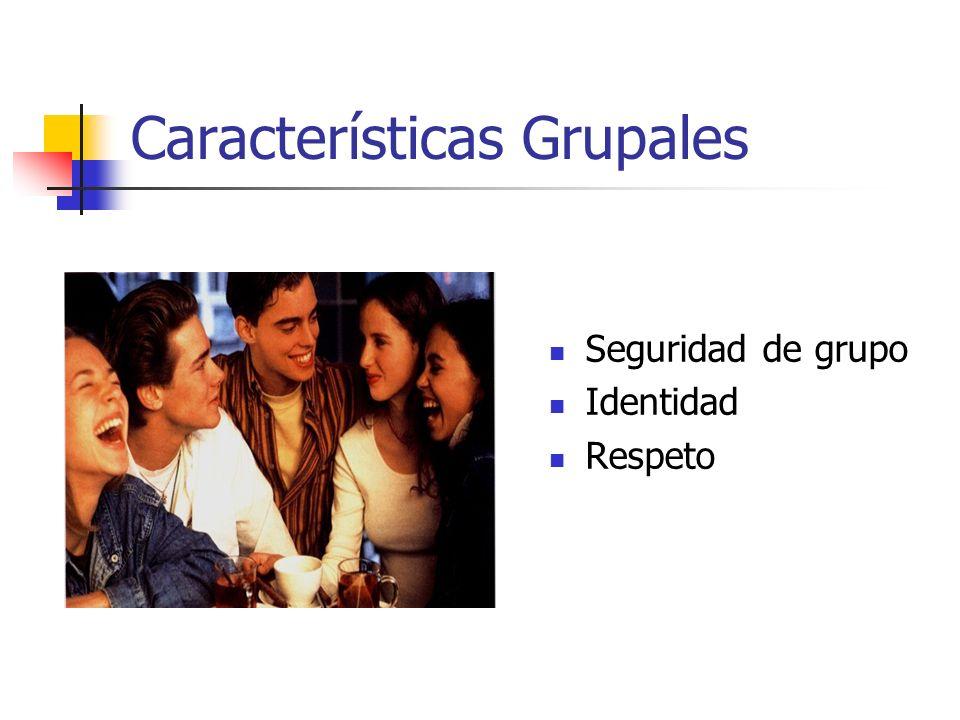 Características Grupales