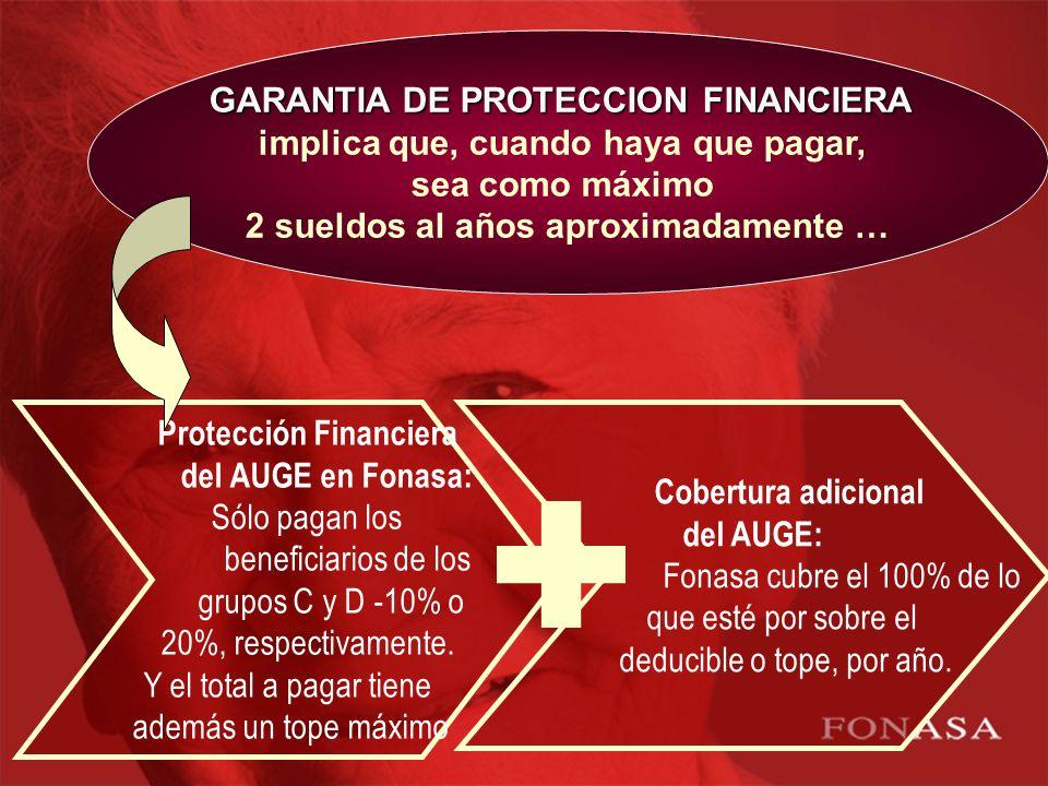 GARANTIA DE PROTECCION FINANCIERA implica que, cuando haya que pagar,