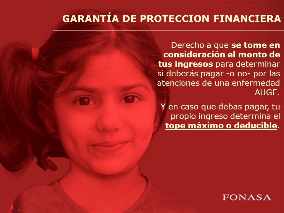 GARANTÍA DE PROTECCION FINANCIERA