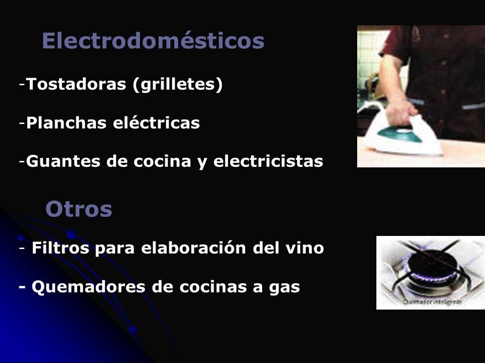 Electrodomésticos Otros Tostadoras (grilletes) Planchas eléctricas