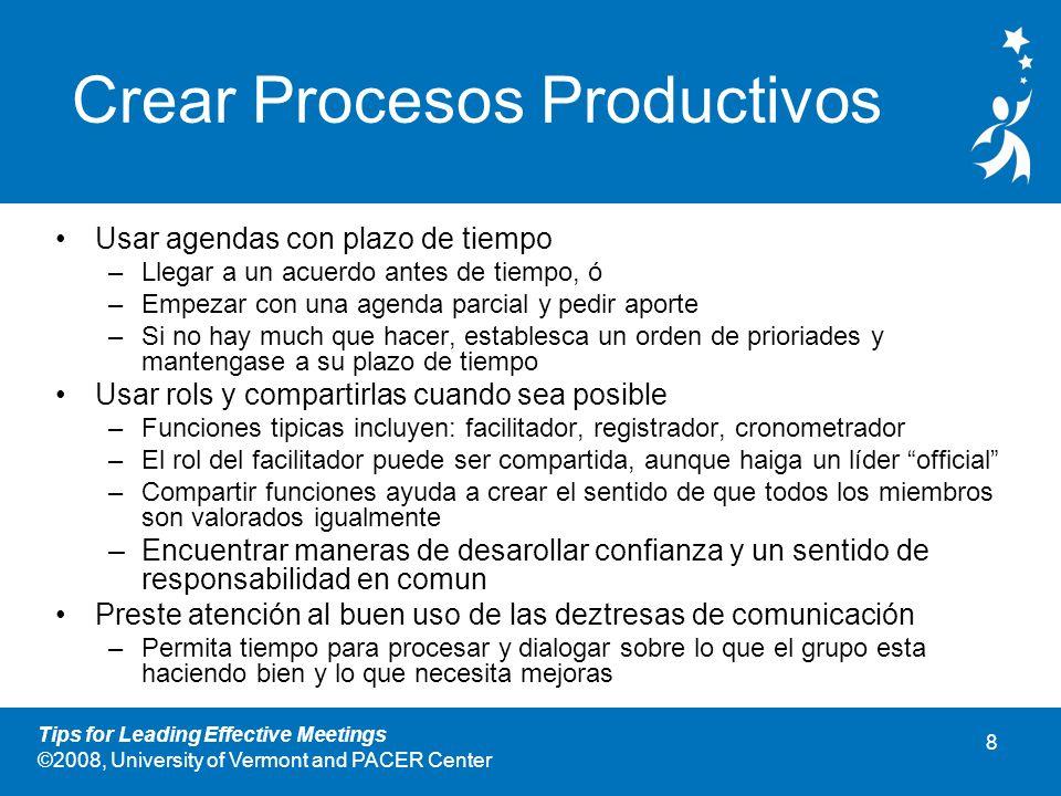 Crear Procesos Productivos