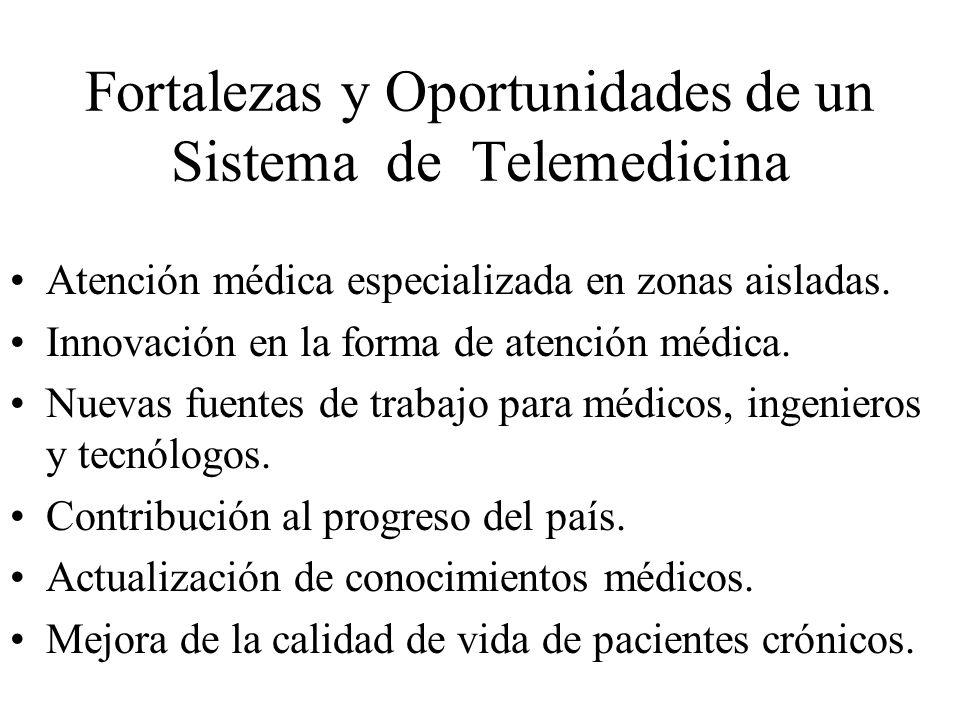 Fortalezas y Oportunidades de un Sistema de Telemedicina