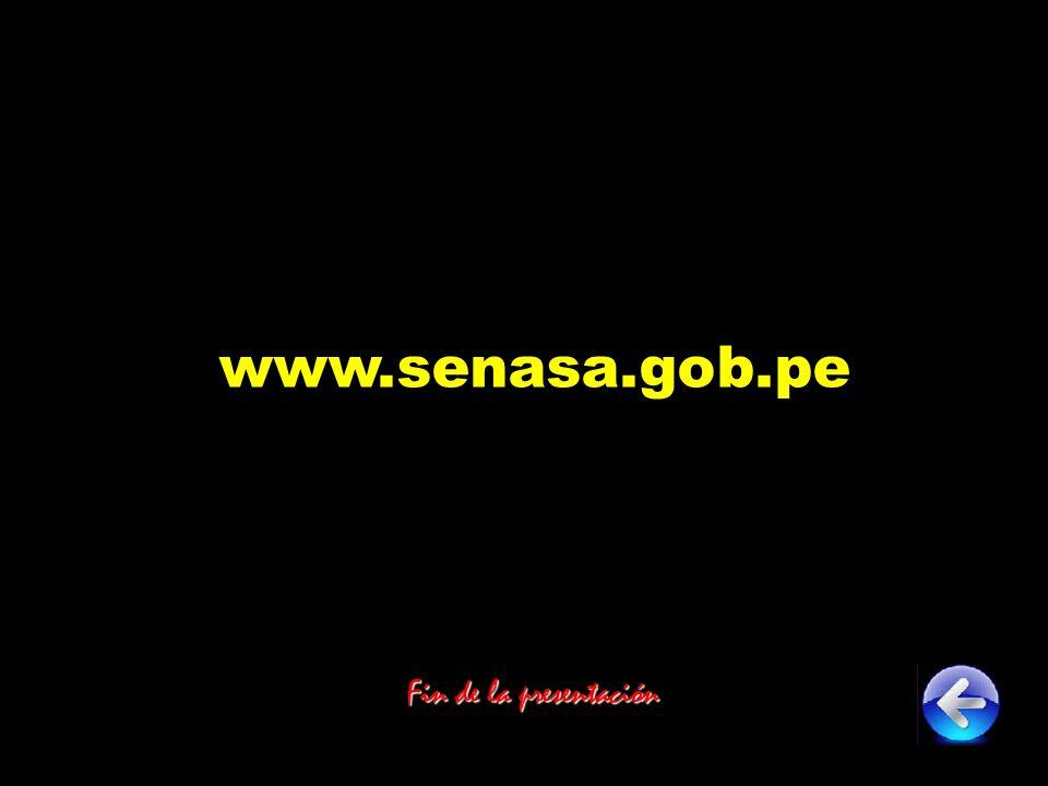 www.senasa.gob.pe Fin de la presentación