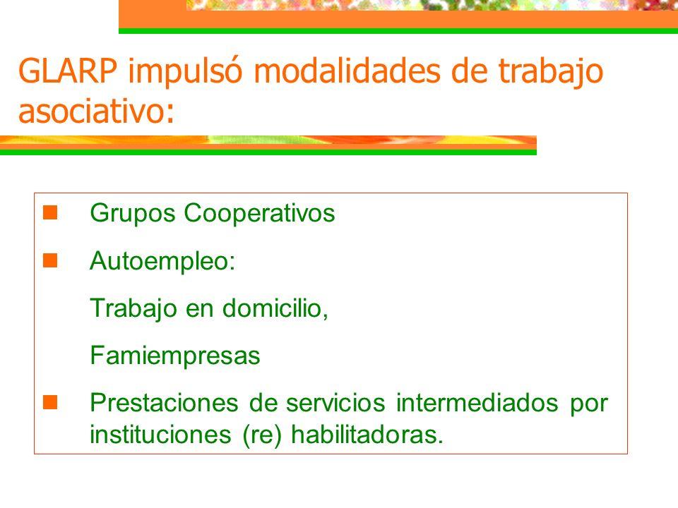 GLARP impulsó modalidades de trabajo asociativo: