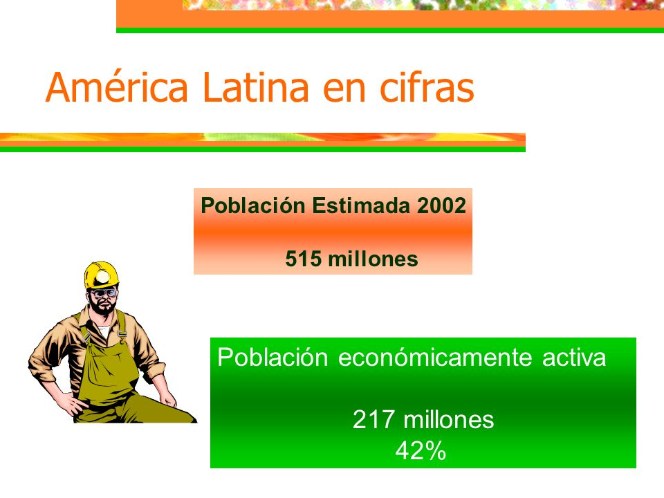 América Latina en cifras