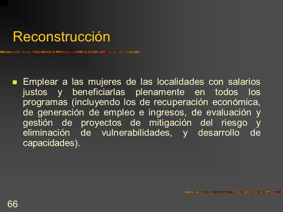 Reconstrucción