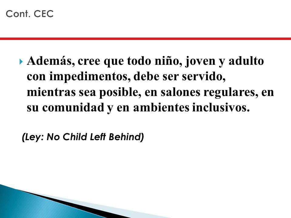 Cont. CEC