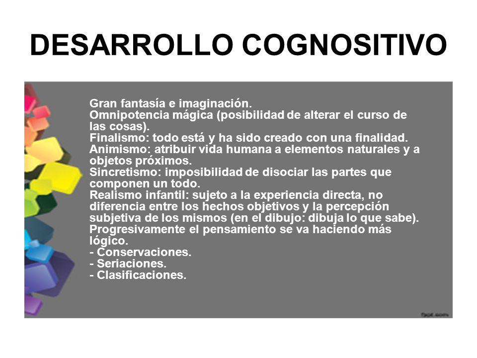 DESARROLLO COGNOSITIVO