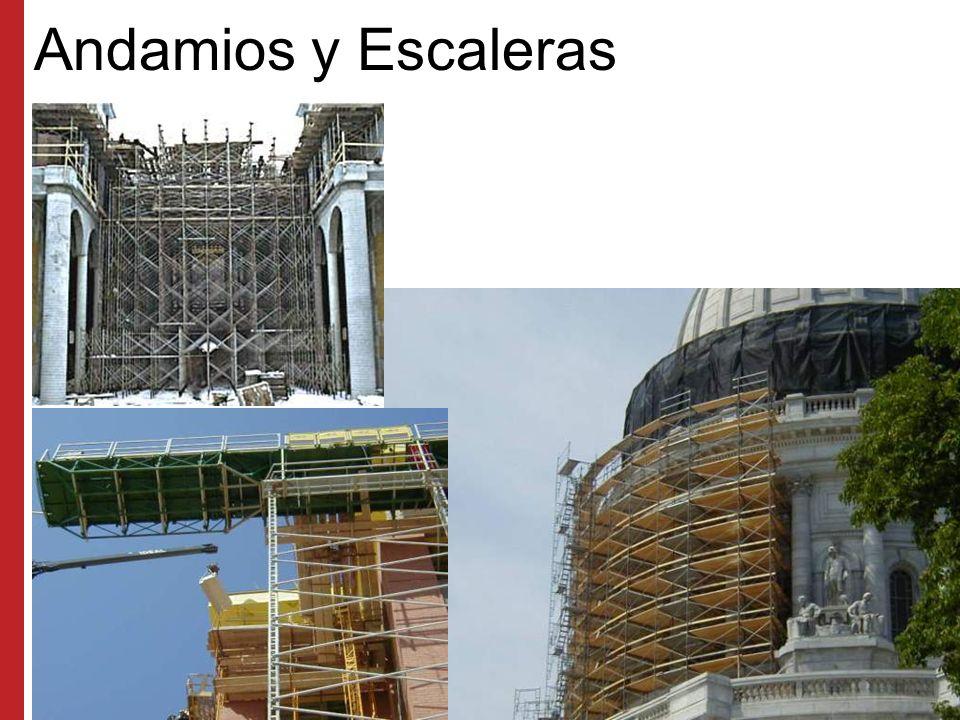 Andamios y Escaleras Programa de Capacitación Susan Harwood (2006) Los Cuatro Riesgos Principales en la Industria de la Construcción.