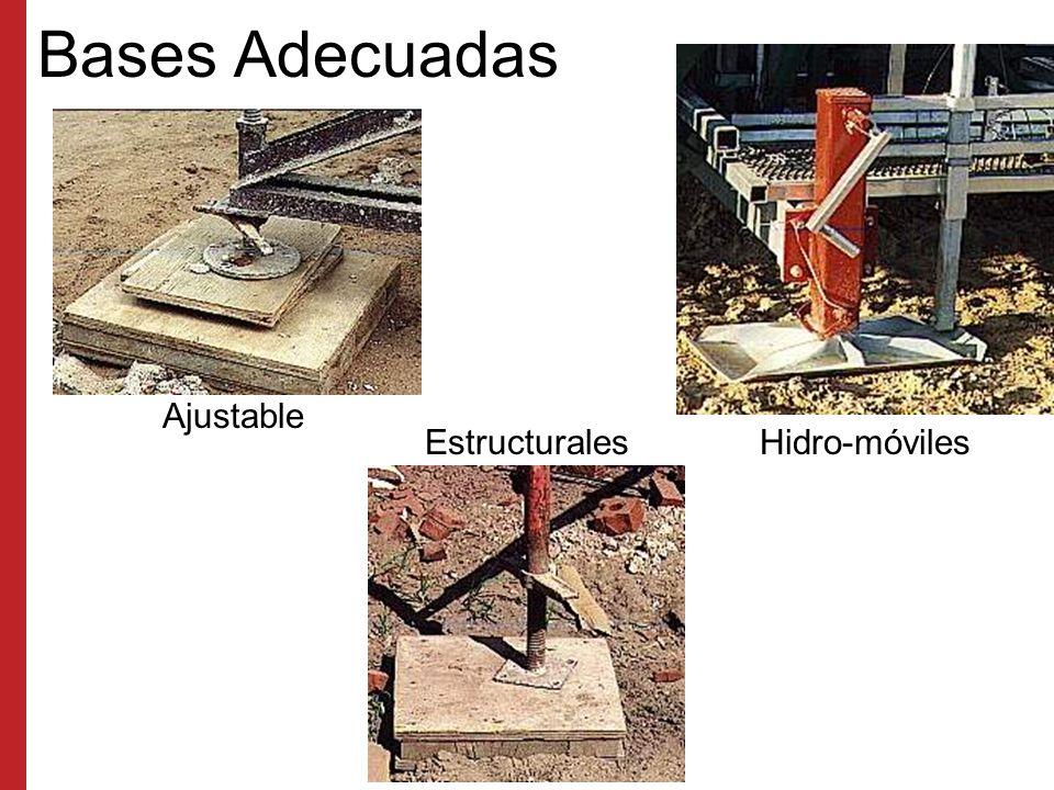 Bases Adecuadas Ajustable Estructurales Hidro-móviles