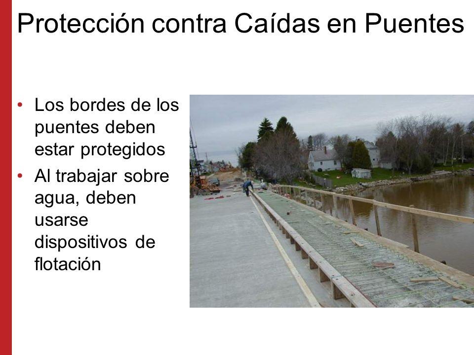 Protección contra Caídas en Puentes