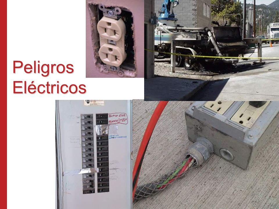 Peligros Eléctricos Programa de Capacitación Susan Harwood (2006) Los Cuatro Riesgos Principales en la Industria de la Construcción.