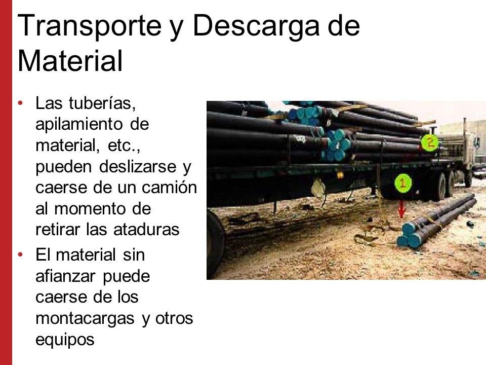Transporte y Descarga de Material